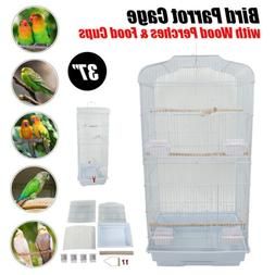 large iron bird cage parrot budgie canary