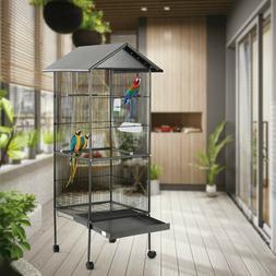 Large Parrot Bird Cage 61 Play Top Pet Finch Cockatiel Suppl
