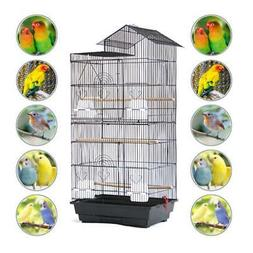 Large Pet Bird Cage Play For Parrot Parakeet Animals Hanging