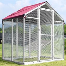 large pet bird cage play top parrot
