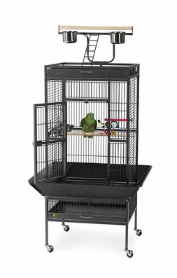 LARGE Prevue Pet Products Wrought Iron Select Bird Cage Blac