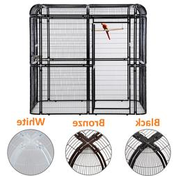 Large Walk in Aviary Bird Cage Parrot Macaw Flight Cage Finc