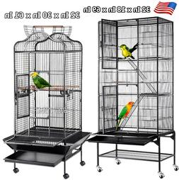 Large Wrought Storey Ladder Aviary Iron Birds Cages Parrot F