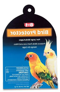 8 in 1 Lice and Mite Bird Protector size: Large