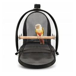 Lightweight Bird Carrier Bird Travel Cage Breathable Transpa