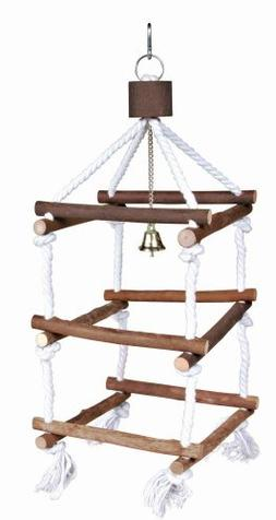 Trixie Natural Living Wooden Bird Tower with Ropes for Pet P
