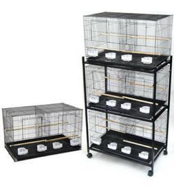 "Lot of 4 Large 30"" Bird Breeding Breeder Cages Divider 30x18"
