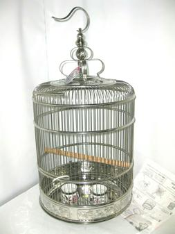Prevue Pet Products Lotus Stainless Steel Bird Cage 150, Sta