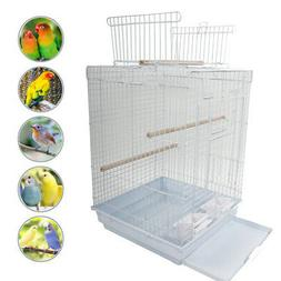 "Lovely 23"" Portable Bird Cage Pet Supplies Metal Cage with O"