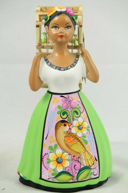 lupita doll bird cage lime green dress