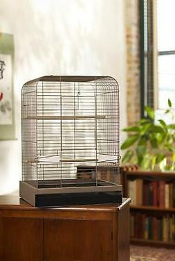 "Madison 29"" Bird Cage for Parakeet Cockatiel Parrot with 2 C"