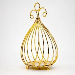 MagiDeal Bird Cage Candleholder Candlestick for Wedding Xmas