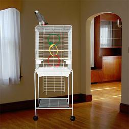 "Manoa Mansion Flattop Bird Cage - 21""W x 16""D x 56""H - With"