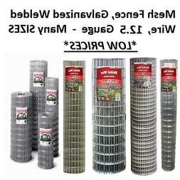 MANY SIZES & OPTIONS - Galvanized Welded Wire Mesh Cage Fenc