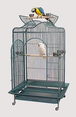 "Maui Mansion Convertible Top Bird Cage - 36"" X 30"" X 66"" - G"