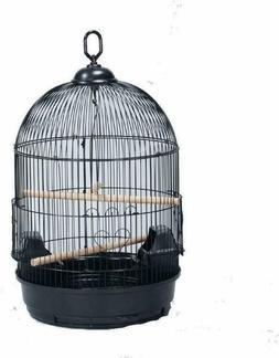 Mcage Round Bird Cage Cockatiel Lovebird Finch Canary Parake