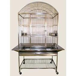 Avian Adventures Mediana Dometop Bird Cage Platinum