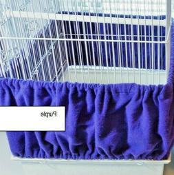 MEDIUM/LARGE Bird CAGE Seed Catcher Skirt 100% Cotton Flanne