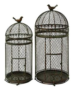 Benzara Metal Bird Cage for Those Who Have Passion for Birds