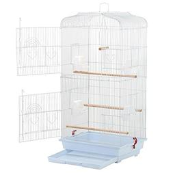 "Yaheetech 36"" Portable Hanging Medium Size Bird Cage for Sma"