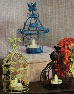 Metal decorative bird cage set of 3 New In Box.