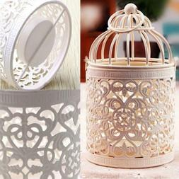 Metal Moroccan Birdcage Candle Holder Hanging Lantern For We