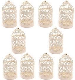 Yonger Metal Tealight Hollow Candle Holder Hanging Lanterns