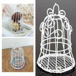 Mini Bird Cage Wedding Gift Box Favours Metal Birdcage Candy