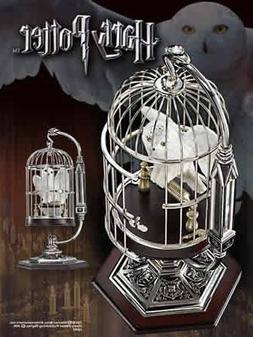 Harry Potter -Miniature Hedwig and Cage With Display Stand b