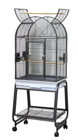 HQ Model 22217C-Parrot Bird Amazon Cockatiel Cage. Black