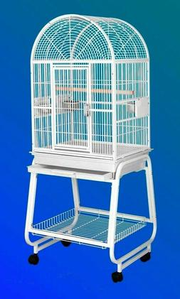 HQ Model 22217C-Parrot Bird Amazon Cockatiel Cage. Platinum