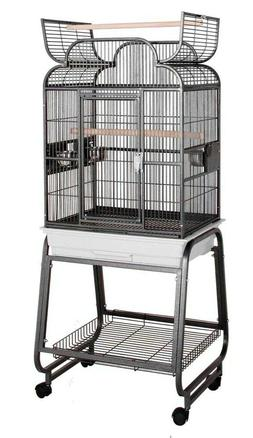 HQ Model 82217C-Parrot Bird Amazon Cockatiel Cage-Platinum G