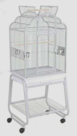 HQ Model 92217C-Parrot Bird Amazon Cockatiel Cage-Platinum G