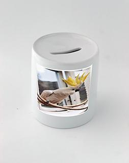 Money box with A cockatoo