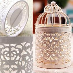 Moroccan Birdcage Metal Candle Holder Hanging Lantern For We