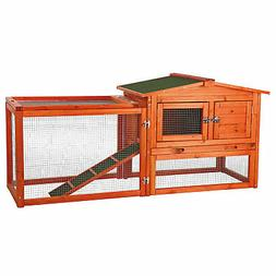 """Trixie Natura Animal Hutch with Outdoor Run, 61"""" L X 20.75"""""""