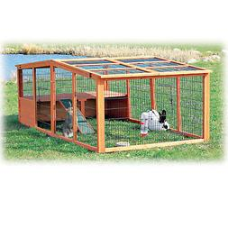 Trixie Natura Peaked Roof Outdoor Rabbit Run with Shelter, 3