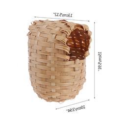 Natural Bamboo <font><b>Bird</b></font> House Hand Made <fon