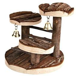 Trixie Natural Living Climbing Frame Toy 2 Bells for Hamster