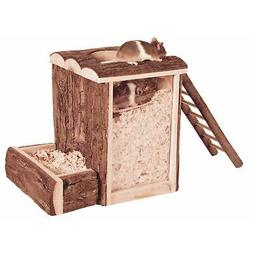 Trixie Natural Living Play and Burrow Tower Toy for Mice & D