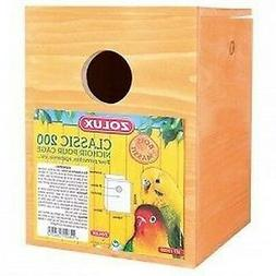 NEST BOX WOOD CLASSIC 200 birds, cages, accessories
