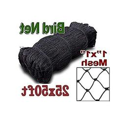 boknight 25' X 50' Net Netting for Bird Poultry Aviary Game