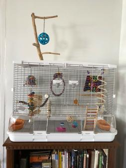 Never used Vision model L01 large bird cage and New A&E Trav