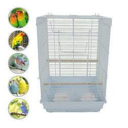 """New 23"""" Bird Cage Pet Supplies Metal Cage Cages with Open Pl"""
