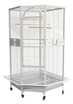 "NEW Large 63"" Corner Cage For Cockatiel Parakeet Budgies Par"