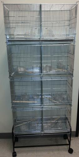 Large Galvanized CAMBO-4 of Bird Finches Canary Breeding Bre