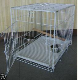 Large Travel Foldable Parrot Bird Carrier Cage For Parrot Co