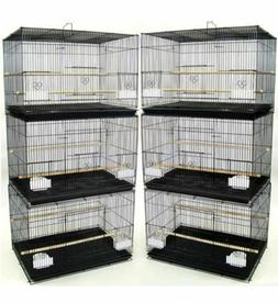 "NEW Lot of 6 Aviary Breeding Breeder Bird Cages 24x16x16""H -"