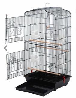 "New Yaheetech Metal Bird Cage 18""x14""x36"" 591179 Canar"