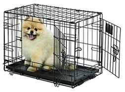NEW MidWest Life Stages Folding Metal Dog Crate FREE2DAYSHIP